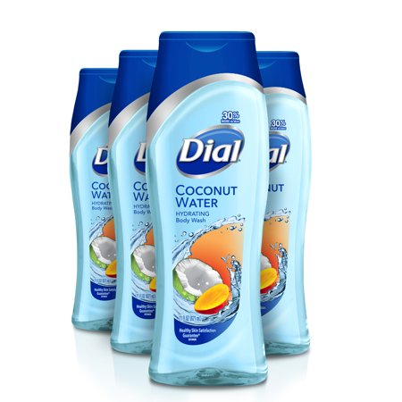 Dial Body Wash, Coconut Water & Mango, 21 Ounce (Pack of - Mens Coconut