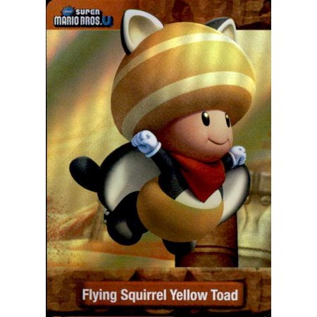 Super Mario Flying Squirrel Yellow Toad Dog Tag Trading Card (Squirrel Dog Movie)