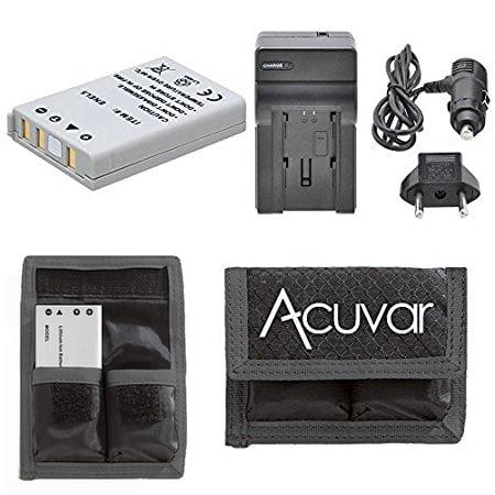 - EN-EL5 Battery Replacement + Car / Home Charger + Acuvar Battery Pouch For Nikon Coolpix 3700, 4200, 5200, 5900, 7900, P3, P4, P5000, P5100, P6000, P80, P90, P100, P500, P510, P520, S10 & More