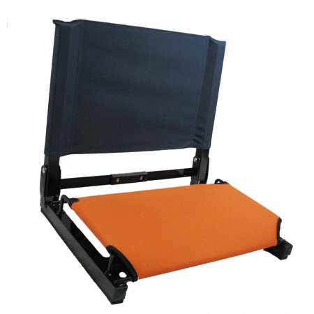 Patented Stadium Chair Bleacher Seat Walmart Com