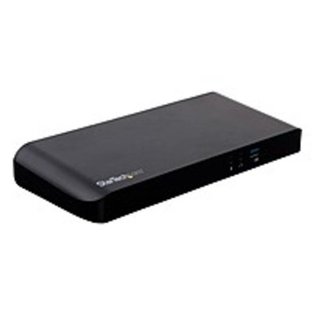 Refurbished StarTech.com Dual-Monitor USB-C Dock for Windows Laptops - MST - PD - 4K - Dual Monitor Docking Station - HDMI and MonitorPort Ports - 5Gbps Throughput - USB-C Dock for PC Laptops -