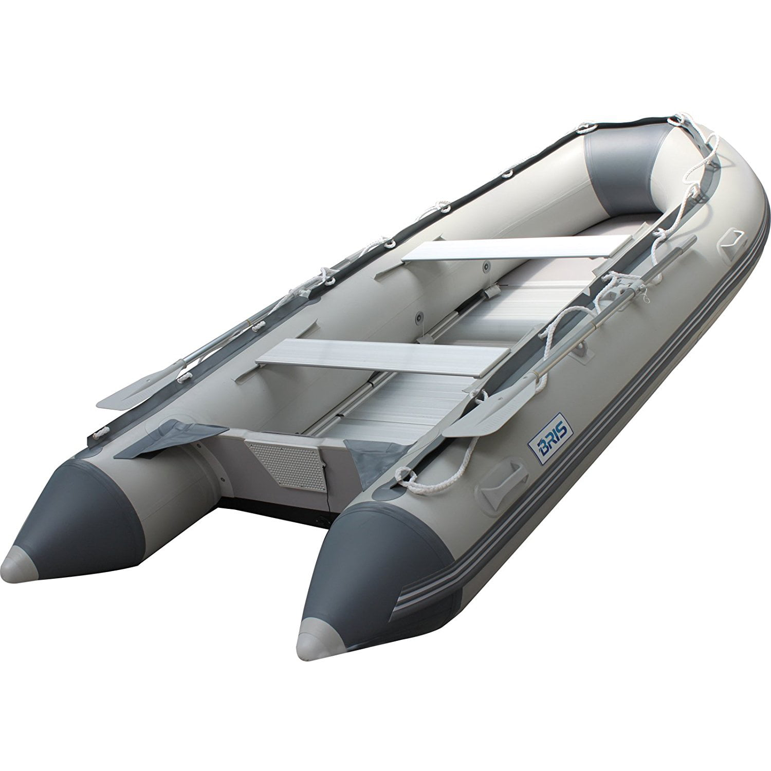 BRIS 10.8Ft Inflatable Boat Inflatable raft Dinghy Fishing Tender Pontoon Boat by BRIS