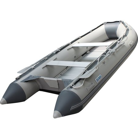 BRIS 10.8Ft Inflatable Boat Inflatable raft Dinghy Fishing Tender Pontoon Boat