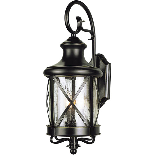 "BelAire English Garden 19"" Outdoor Wall Light, Bronze"
