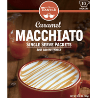 Cafe Tastle Single Serve Caramel Macchiato Coffee, 10 Count