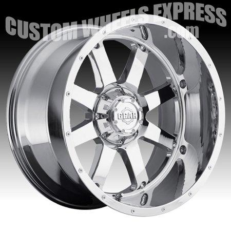 - Gear Alloy 726C Big Block Chrome 22x12 6x135 / 6x5.5 -44mm (726C-2226844)