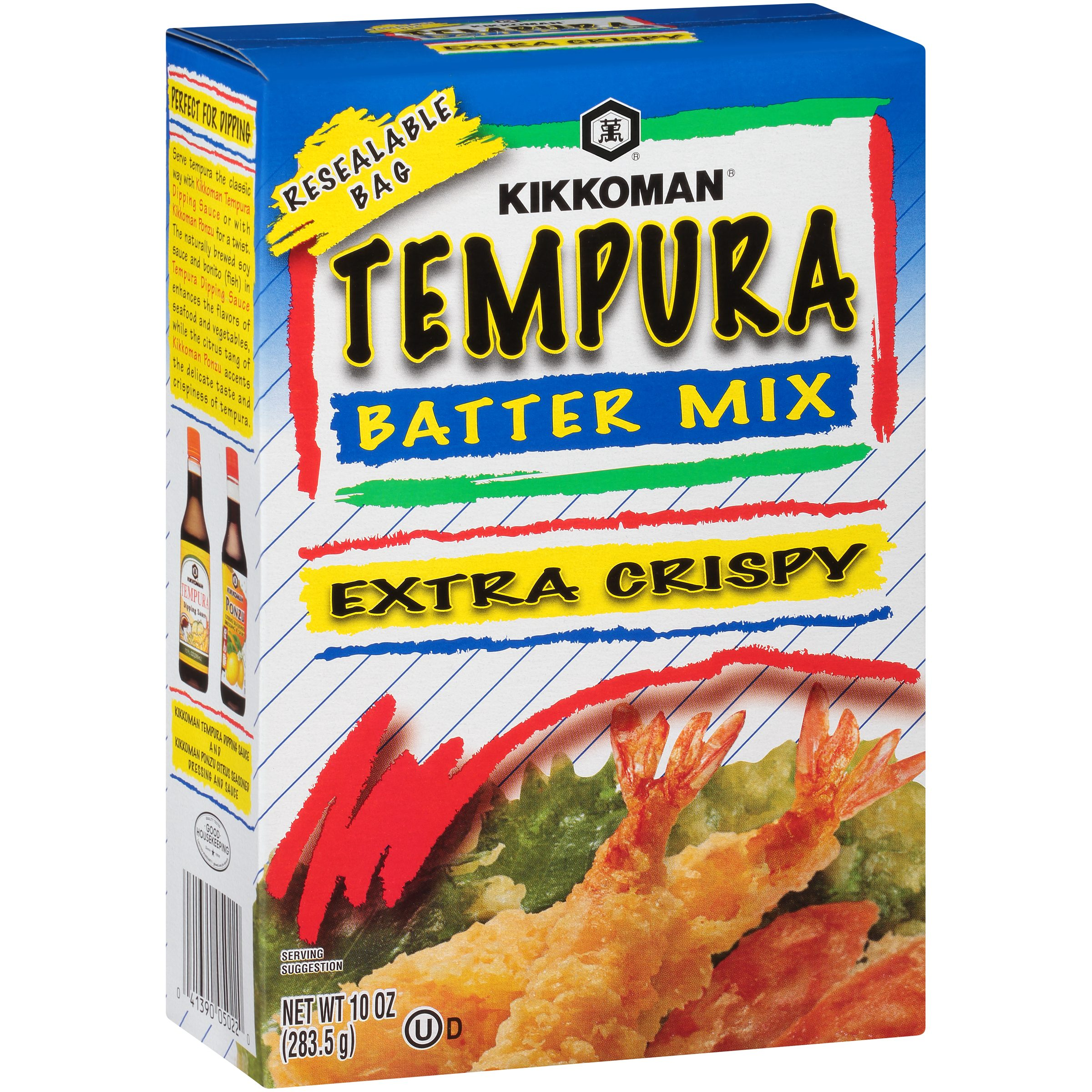 Kikkoman Extra Crispy Tempura Batter Mix 10 oz Box Walmart