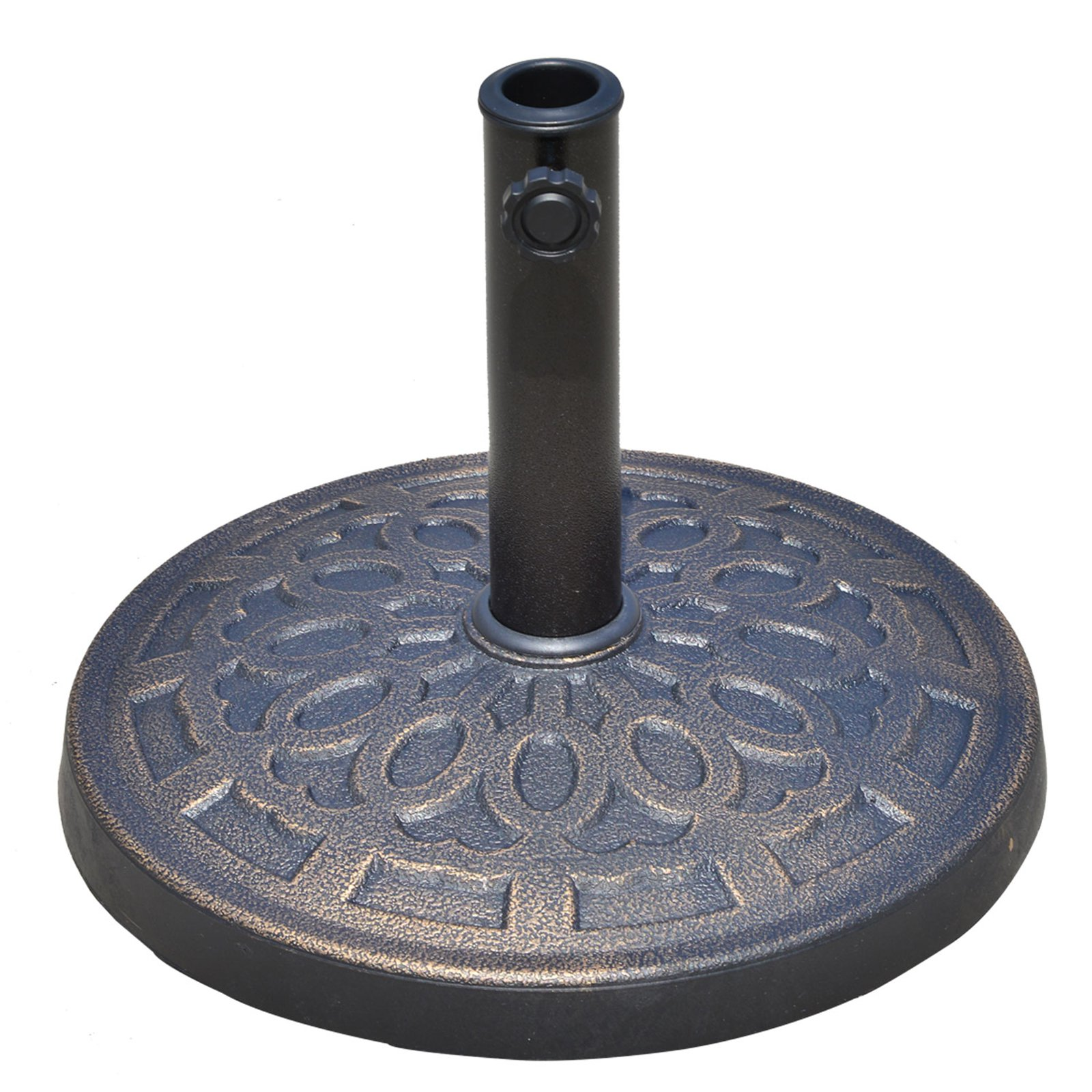 Outsunny 27-lb. Round Decorative Spiral Umbrella Stand