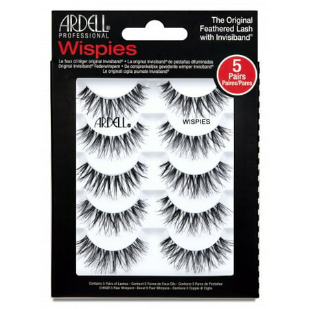 Ardell Wispie Lash, 5 pairs (Best Fake Lashes For Small Eyes)