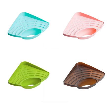 Fashion kitchen triangle rack sponge sink drain rack bathroom soap rack - image 3 of 3
