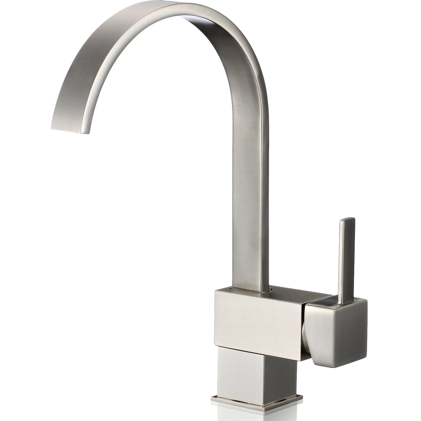Ispring L8208bn Single Handle 360 Degree Swivel Kitchenbar Sink