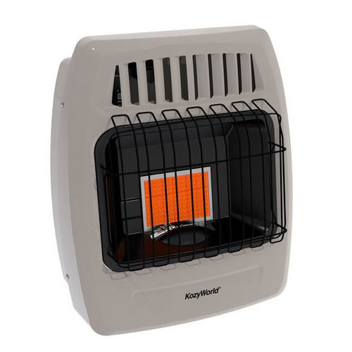 DuraHeat Kozy World 6,000 BTU Infrared Liquid Propane Gas Wall Heater