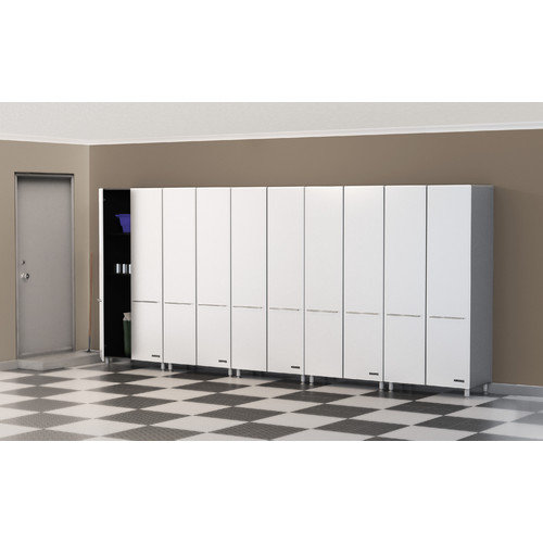 Ulti-MATE Ulti-MATE Storage 80'' H x 177.5'' W x 21'' D 5-Piece Tall Cabinet Set (Set of 5)