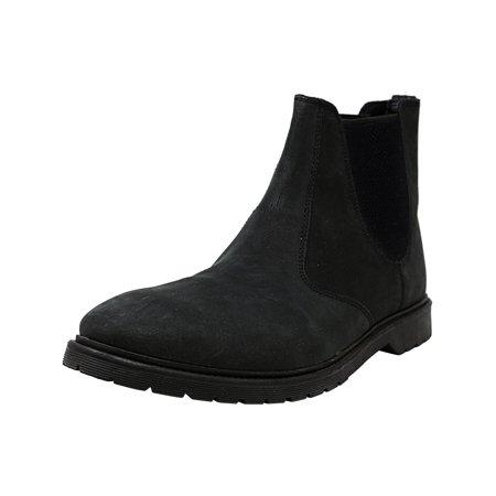 0753d754d31 Steve Madden Men's Merida Black Ankle-High Leather Boot - 13M ...
