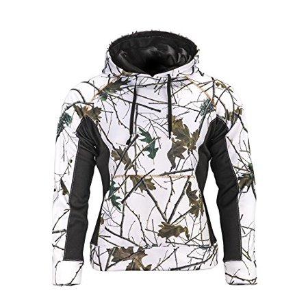 Trail Crest Women's Snow Camo Soft Shell Hooded Jacket, 2X, Snow Camo & (Soft Shell Snow)