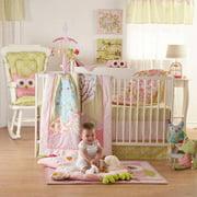 Lolli Living Poppy Seed 4pc Crib Bedding Set, 100% Cotton