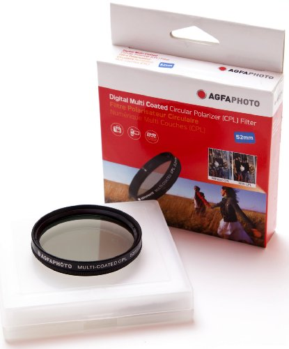 AGFA Digital Multi-Coated Circular Polarizing (CPL) Filter 52mm APCPF52 by Agfa