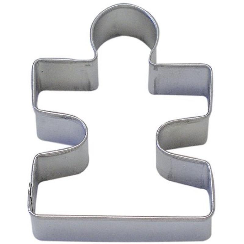"""1 X Puzzle Piece Tin Cookie Cutter 3.25"""" B0865 by"""