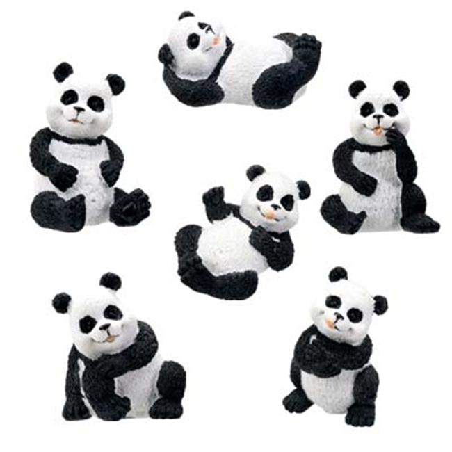 YTC SUMMIT 5383 Pandas - Set of 6 - C-18