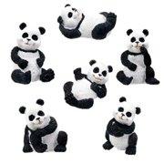 YTC SUMMIT 5383 Pandas - Set of 6 - C-18