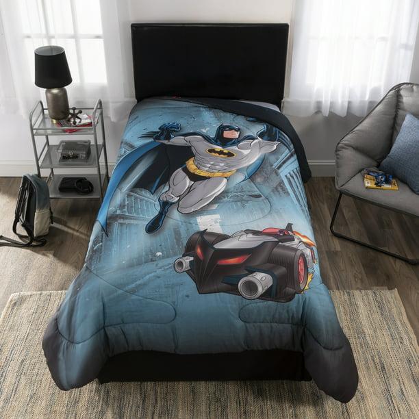 Dc Comics Batman Comforter Kids, Batman Twin Bedding Set