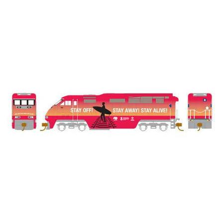 Athearn 23763 N RTR F59PHI w/DCC & Sound, Amtrak/OLS #455