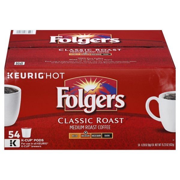 54ct Folgers Classic K Cup