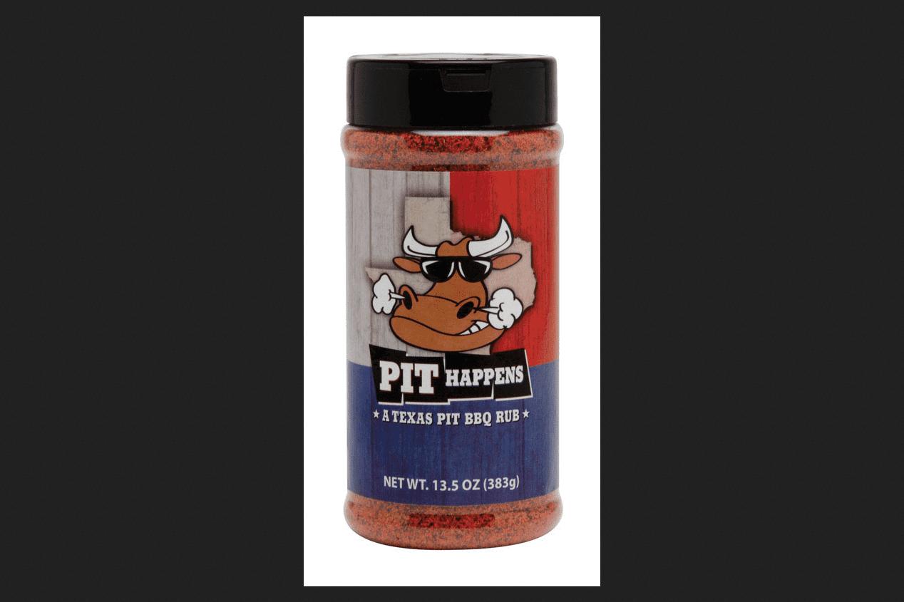 Pit Happens Texas Pit BBQ Rub 13.5 oz. by Pit Happens