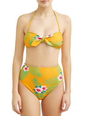 7db3945717e63 Product Image Juniors  Retro Tropical Swimsuit Top