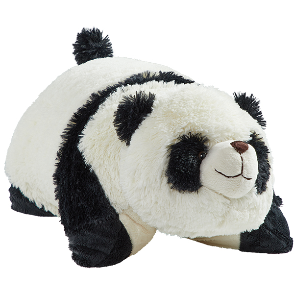 "Pillow Pets 18"" Signature Comfy Panda Stuffed Animal Plush Toy Pillow Pet"
