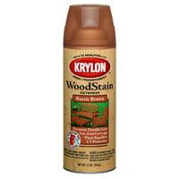 Krylon Exterior Semi-Transparent Wood Stain Spray