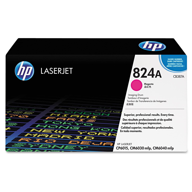 HP 824A, (CB387A) Magenta Original LaserJet IMaging Drum -HEWCB387A by HP
