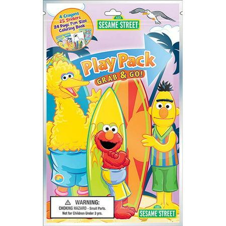 Sesame Street Standard Play Pack (Each) - Sesame Street Halloween Coloring Book