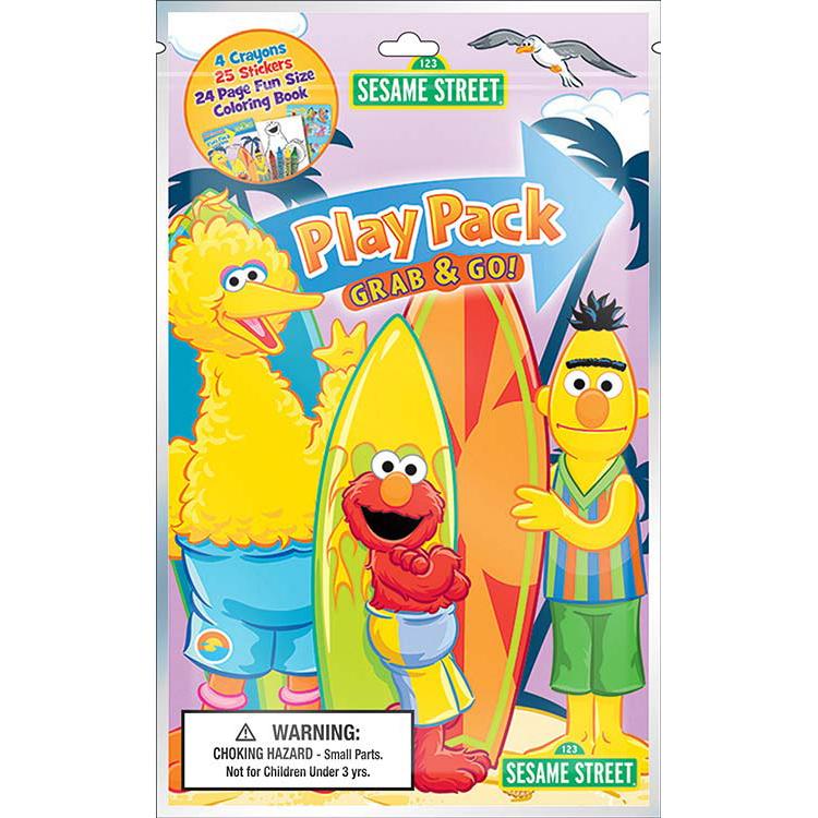 Sesame Street Standard Play Pack (Each)