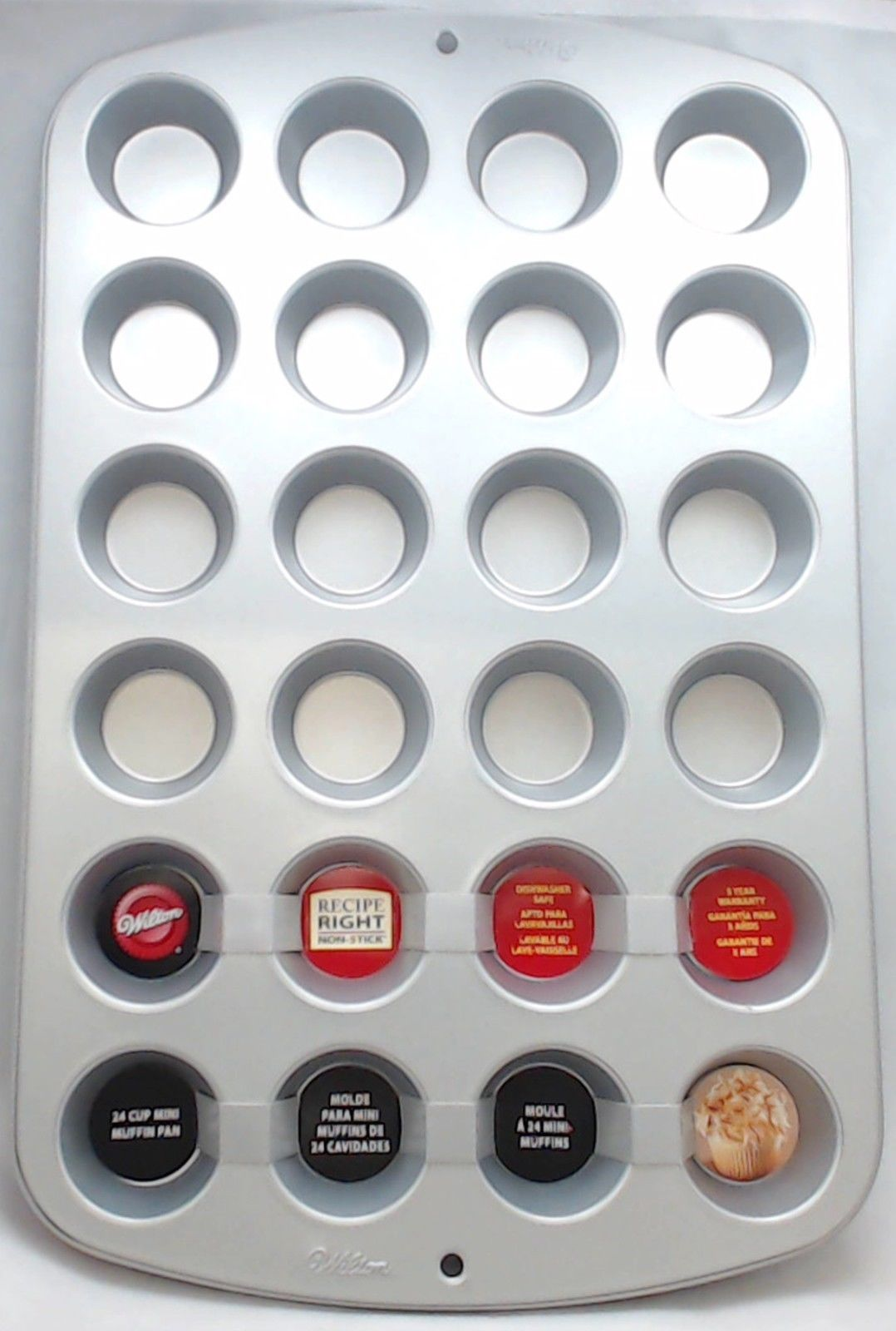 2105-914, Wilton Recipe Right Non-Stick 24 Cup Mini Muffin Pan by SRT Appliance Parts