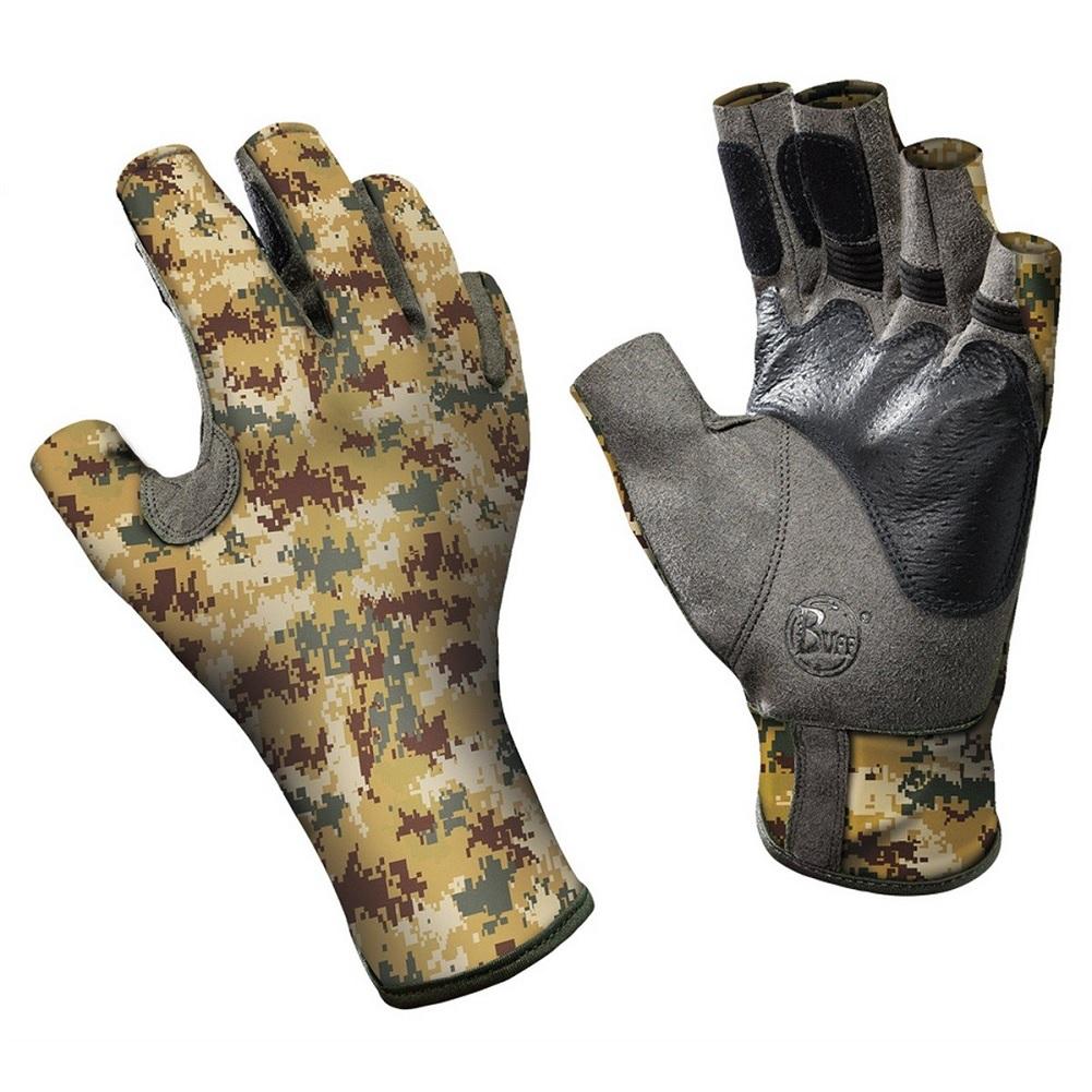 Buff Pro Series Angler 2 Gloves, Pixel Desert, XL/XXL (11/12)