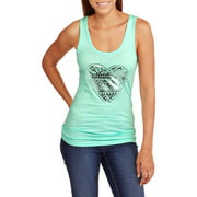 No Boundaries Juniors Scoop Neck Tank