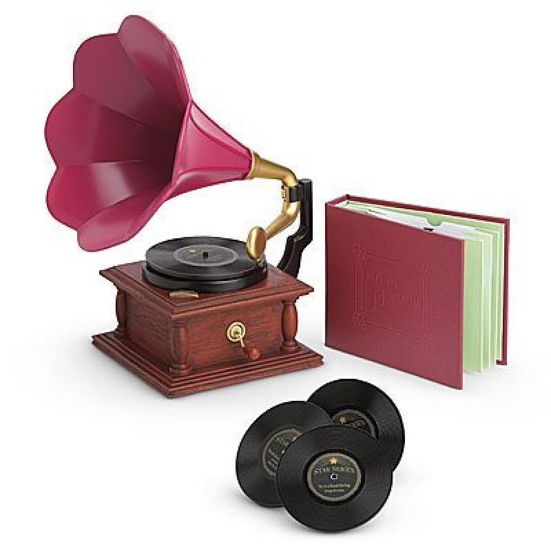 American Girl Rebecca's Phonograph Set for Doll by