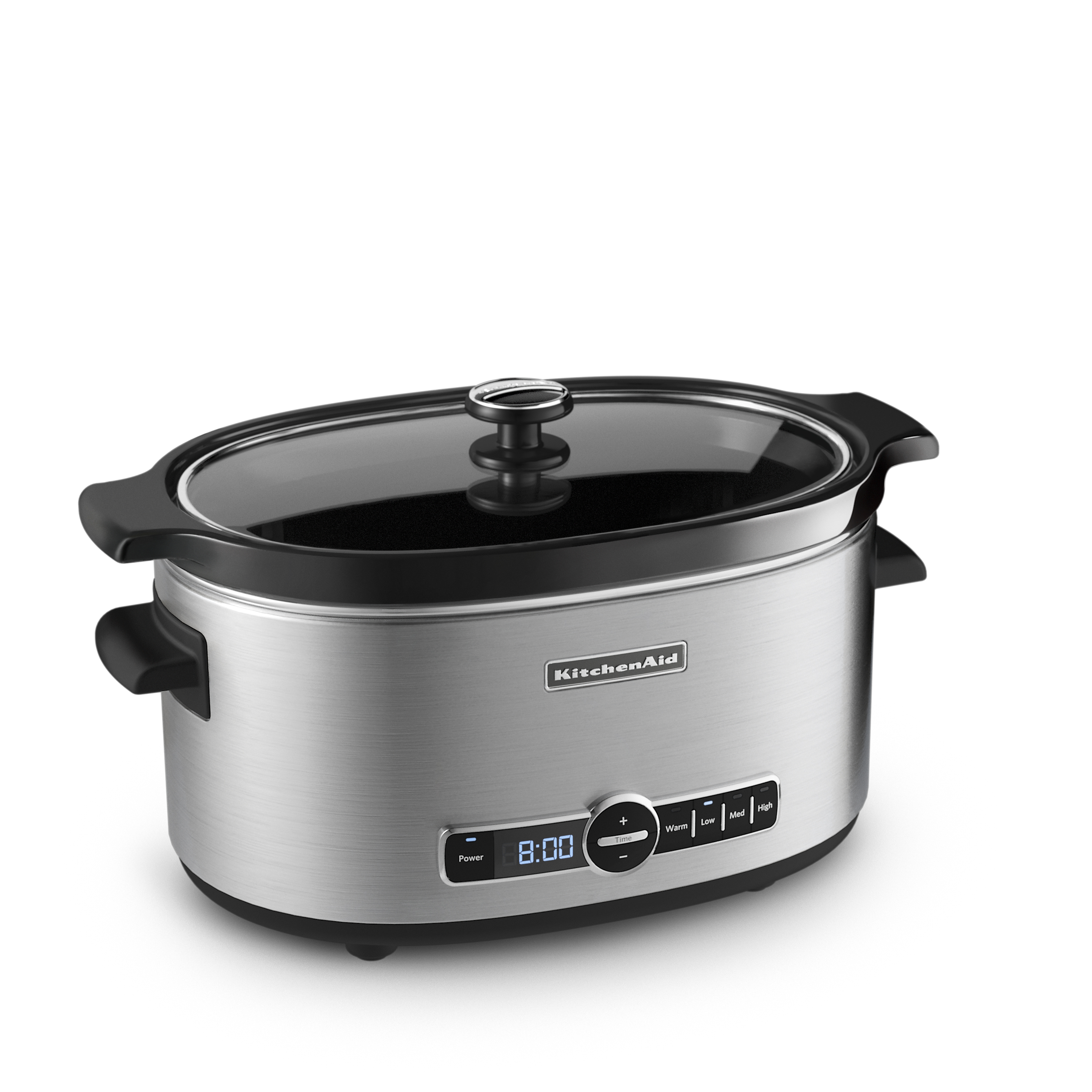 KitchenAid® 6-Quart Slow Cooker with Solid Glass Lid