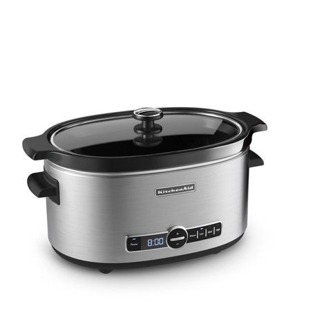 KitchenAid ® 6-Quart Slow Cooker with Solid Glass Lid