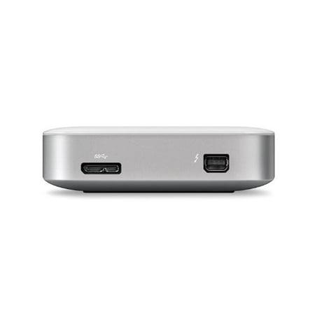 - Buffalo MiniStation Thunderbolt USB 3.0 1 TB Portable Hard Drive (HD-PA1.0TU3)