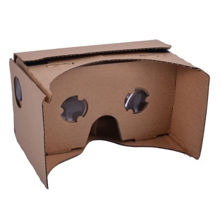 DIY Virtual Reality Box Movie Cardboard 3D VR Glasses for 4.7-6 Inch Smartphone](Cardboard For Sale)