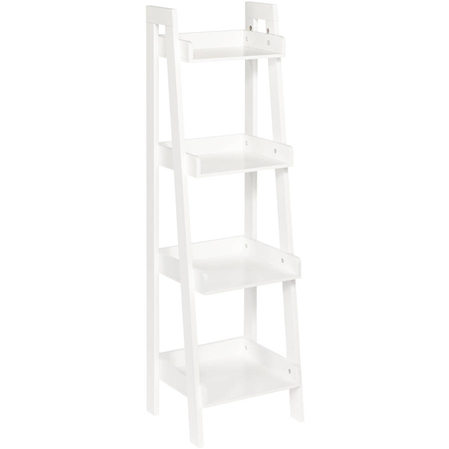 RiverRidge Kids 4-Tier Ladder Shelf, White by Sourcing Solutions, Inc.