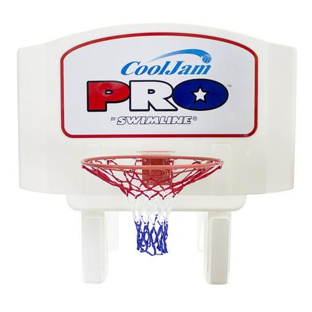 Jam Pool Basketball (Swimline Super Wide Cool Jam Pro Inground Swimming Pool Basketball Hoop )