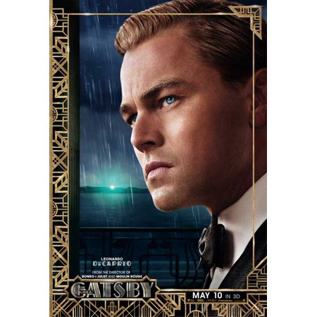The Great Gatsby 3D (2013) 11x17 Movie Poster