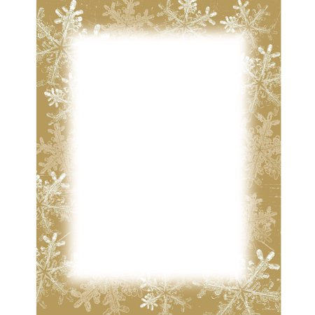 Great Papers! Frosted Holiday Wishes Letterhead, 80 count ()