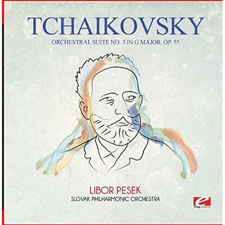 Tchaikovsky: Orchestral Suite No. 3 in G Major, Op. 55 (CD) (Remaster) ()