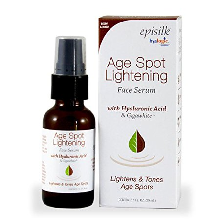 Hyalogic Episilk ASL Serum - Age Spot Lightening Serum - Contains Hyaluronic Acid & Gigawhite - Lightens Age Spots - Evens Skin Tone - 1 oz