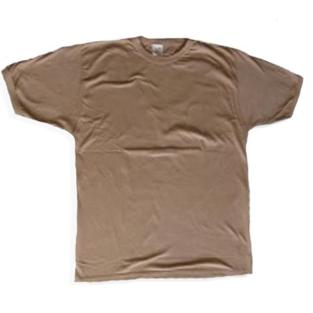 A Camouflage T-SHIRT Mens & Womens (TAN), Small ()