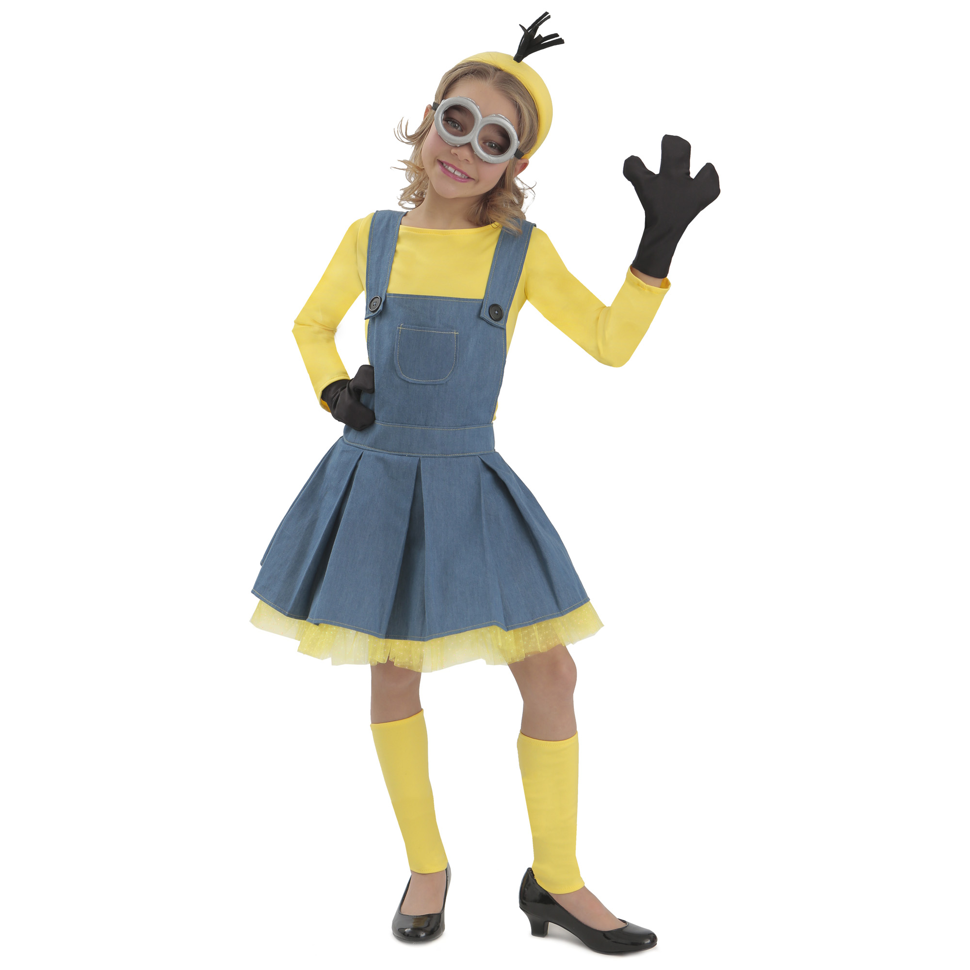 Minions Girl Jumper Halloween Costume by Princess Paradise